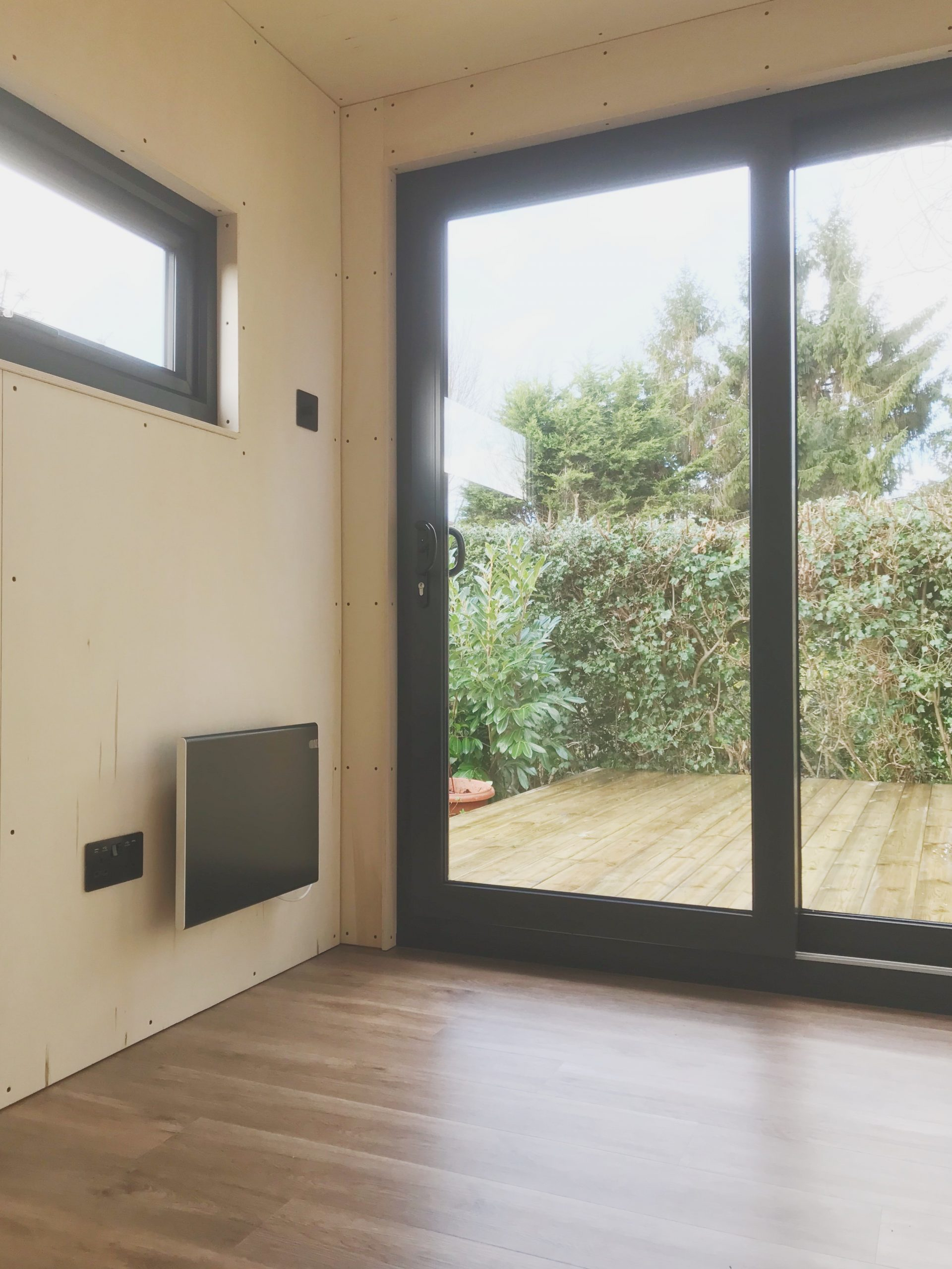 Box Clad Mini Box Poplar Ply Interior Patio Doors
